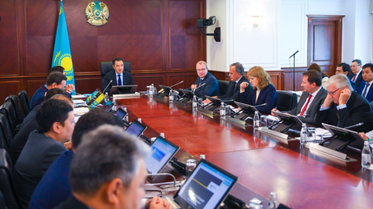 The course of implementation of the Digital Kazakhstan state program and cyber security